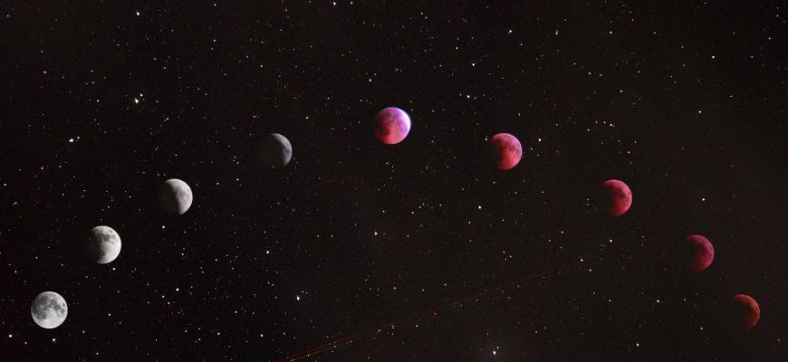 в какой фазе луна на сегодняшний день